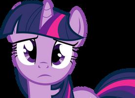 Sad Twilight Sparkle by uxyd