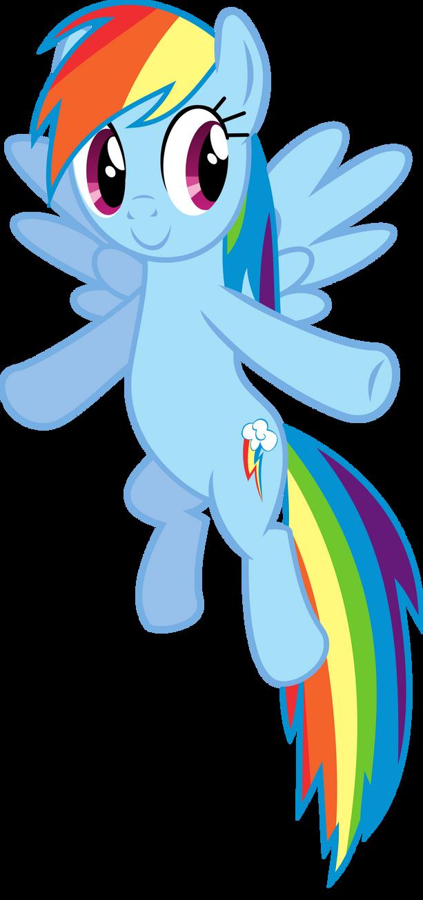 Flying Rainbow Dash Ve...