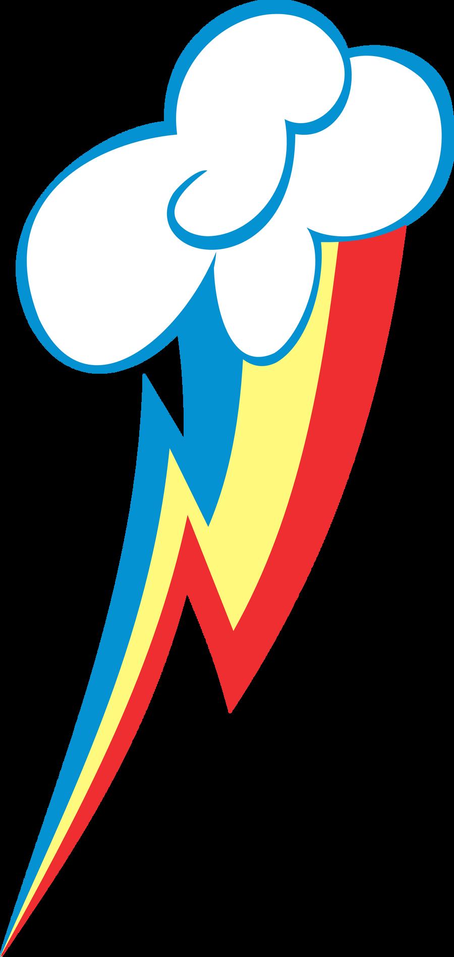 Rainbow Dash Cutie Mark by uxyd on DeviantArt