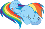 Nap Time Rainbow Dash