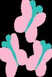 Fluttershy Cutie Mark Vector