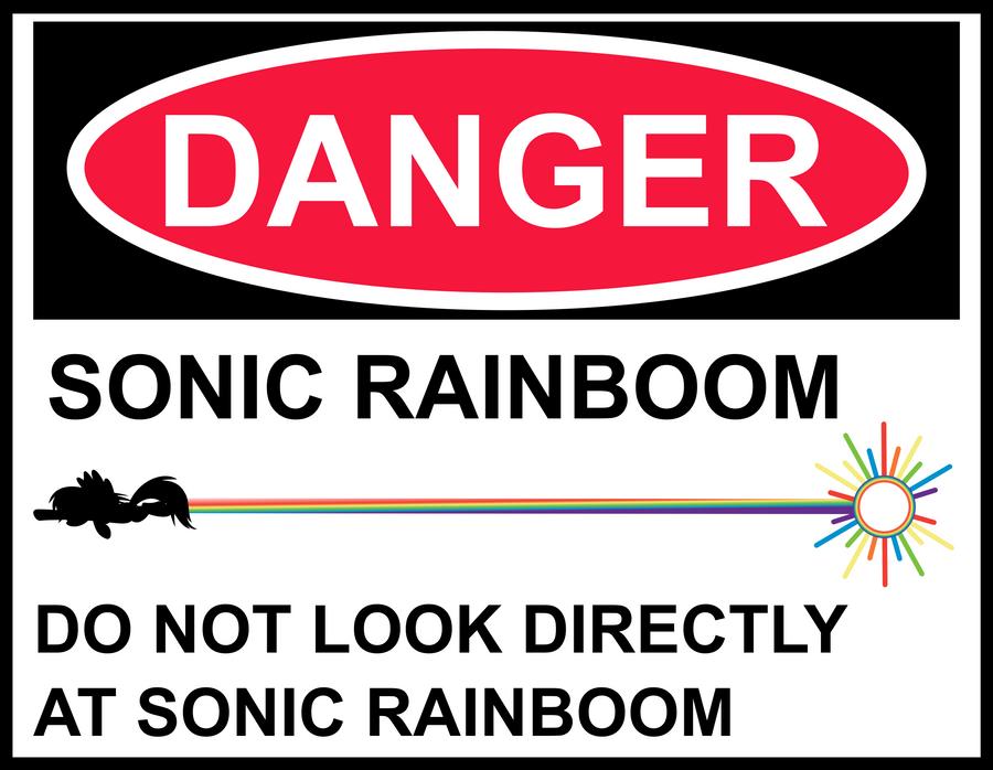 Rainboom Warning by uxyd