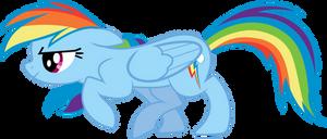 Sneaky Rainbow Dash