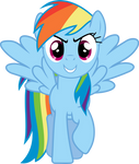 Bold Rainbow Dash