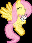 Fluttershy loves Snoo