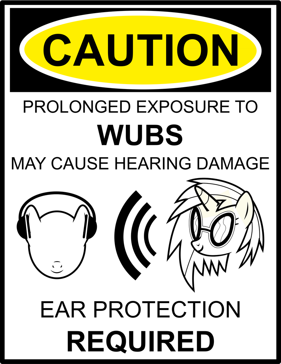 Caution: WUBS by uxyd