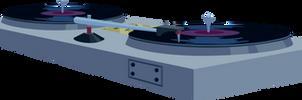 Vinyl Scratch's Turntables