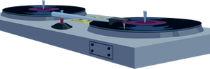 Vinyl Scratch's Turntables by uxyd