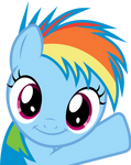 Rainbow Dash Filly - Oh Hey!