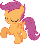 Marching Scootaloo
