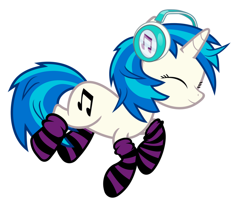 Vinyl Scratch Nap By Uxyd On Deviantart