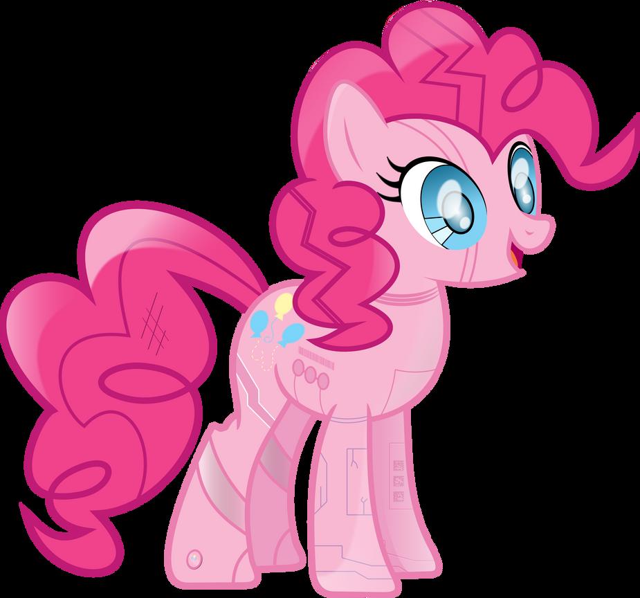 Mod 1 Pinkie Bot by uxyd
