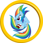 Sonic Rainboom The Hedge-Pony