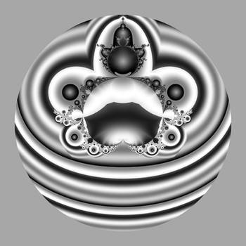 bubble in gray