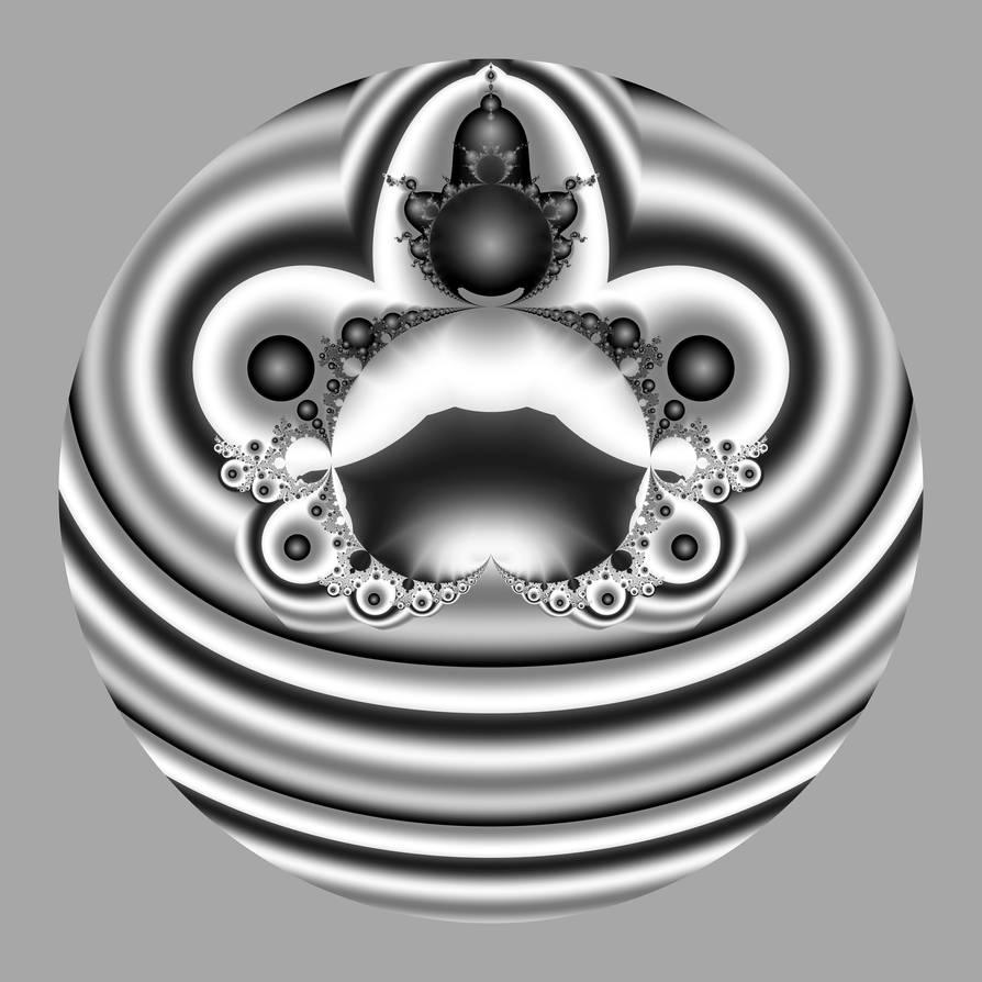 bubble in gray by uxyd