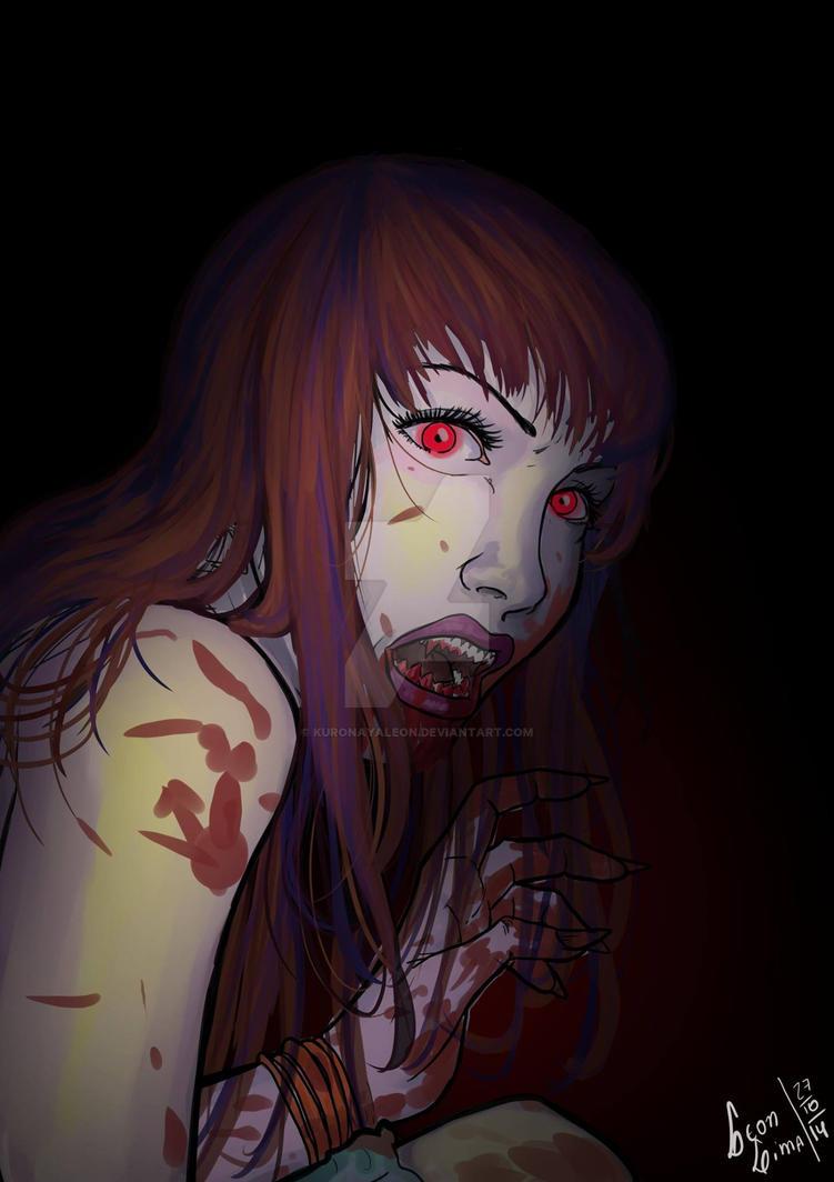Vampira by kuronayaleon