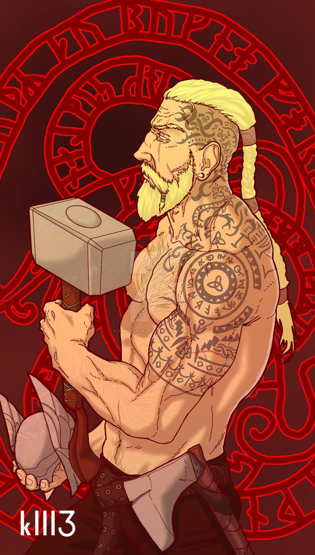 Thor, Odinson by kuronayaleon