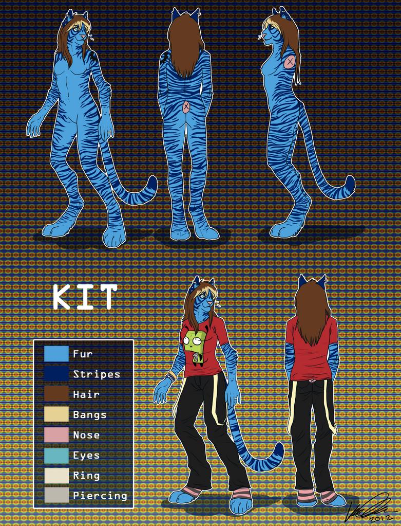 [C] Kit Refrence I By Tamera_Ali by Bluetigerkitty2012