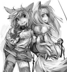 Doodle - Neko Neko by R-chura