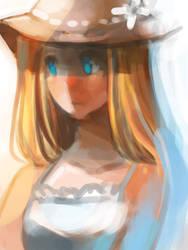 Doodle - Girl by R-chura