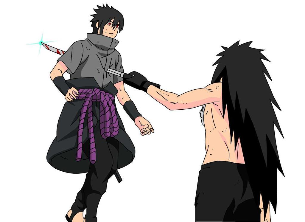 uchiha madara vs sasuke - photo #27
