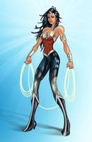 DCnU Wonder Woman by tremary