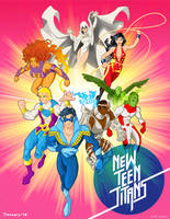 New Teen Titans by tremary