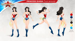 Wonder Woman Character Design by tremary