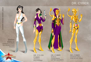 Wonder Woman Cartoon Show: Dr Cyber