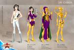 Wonder Woman Cartoon Show: Dr Cyber