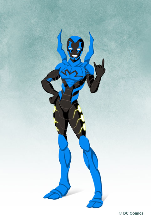 Blue beetle young justice