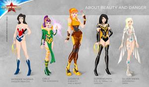 Wonder Woman Cartoon Show: About beauty and danger