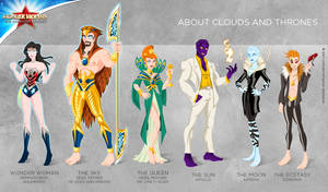 Wonder Woman Cartoon Show: About clouds and throne