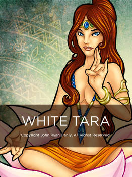 The Danly Series: White Tara by tremary