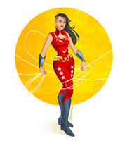 Donna Troy by tremary