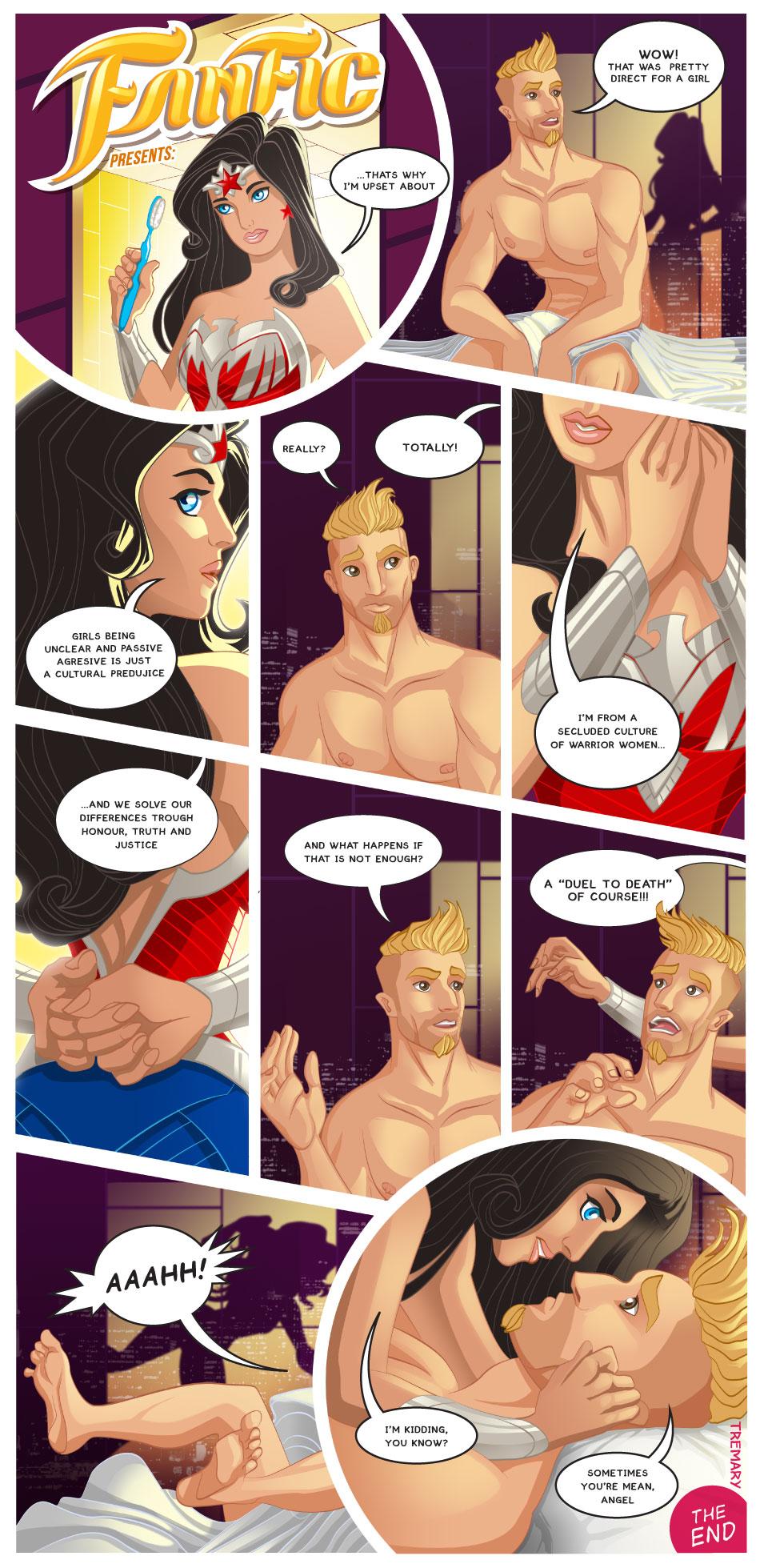 Wonder Woman Fan Fiction 001