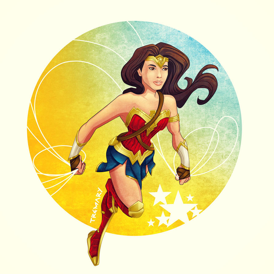 Wonder Woman Movie Version by tremary