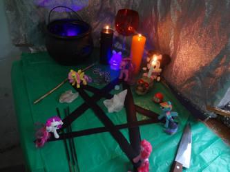 MLP Wicca ritual by jaycebrasil