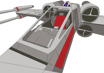 X-Wing Cockpit 001 by jaycebrasil
