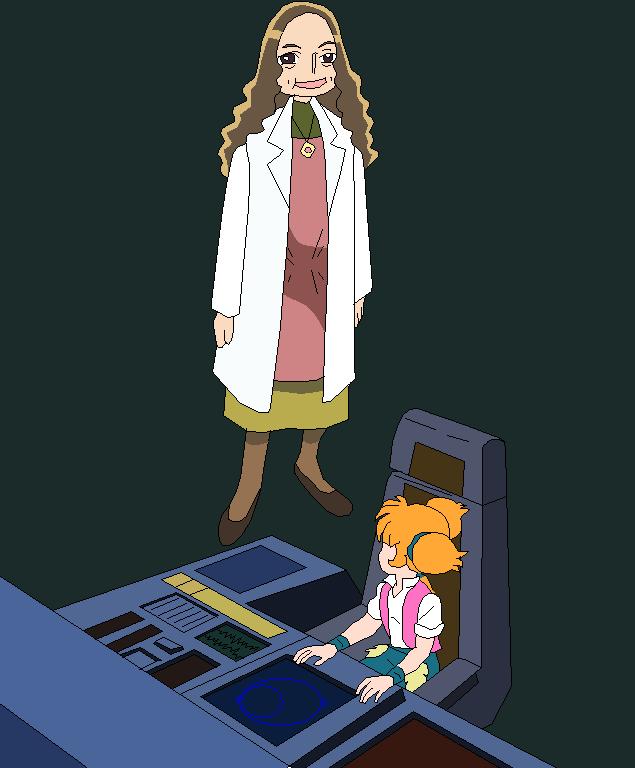 Kaoruko Hanasaki and Flora the alien plant girl by jaycebrasil
