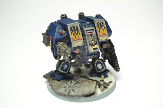 Draconis Chapter Dreadnought Vargas