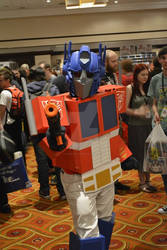 Optimus Prime at Auto Assembly 2014