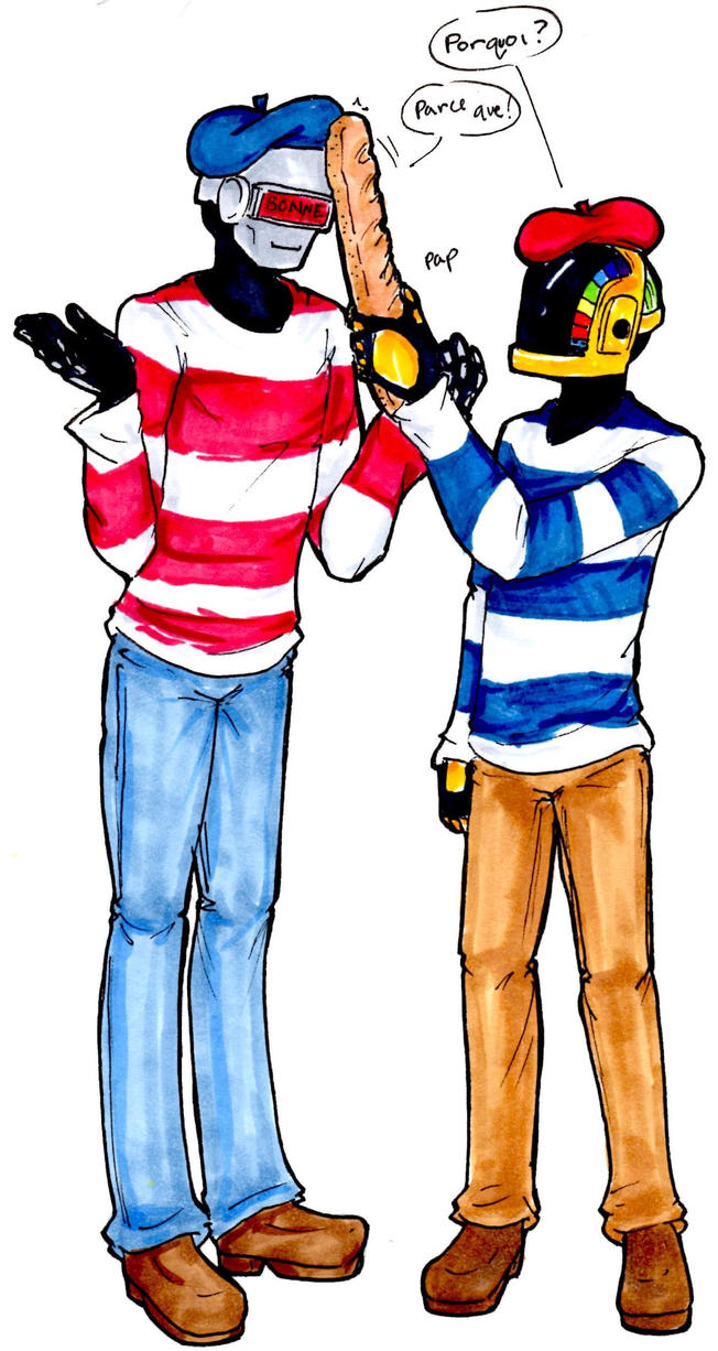 Daft Punk: So French by OrangeSpeck
