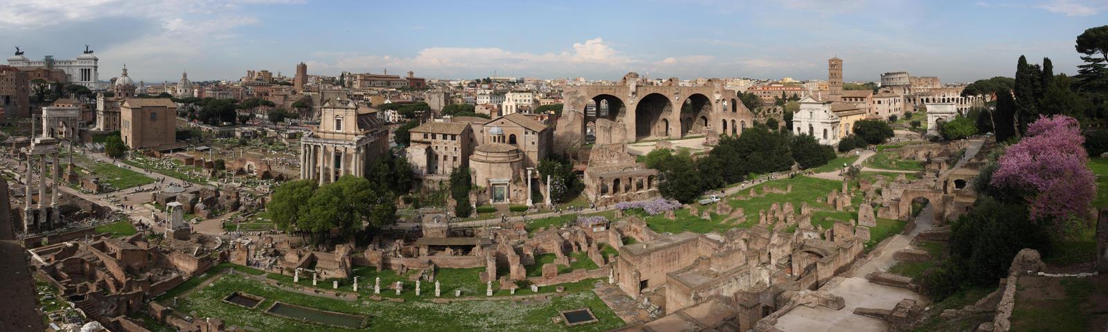 Forum Romanum Panorama