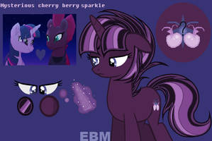 Mysterious cherry berry sparkle *Twipest* (OLD) by EllaBellaMlp