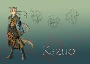 Character sheet: Kazuo
