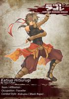 Katsuo Hitsurugi by Azu-Chan
