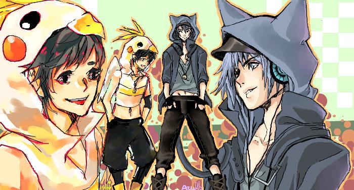 hoodies Club by Azu-Chan
