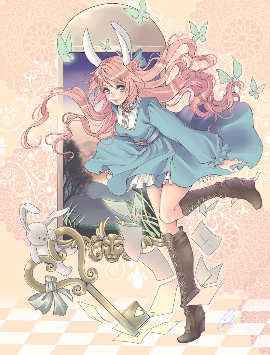 Elodie in Wonderland by Azu-Chan