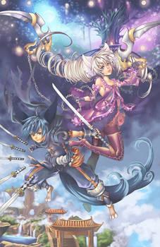Cross world Blade and soul vs Tera